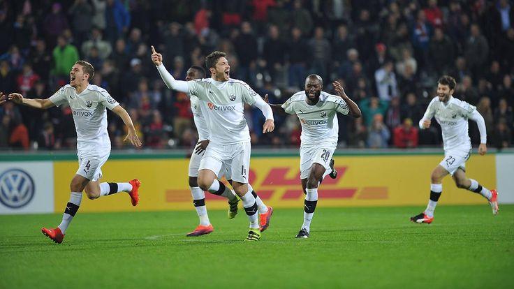 Underdogs im DFB-Achtelfinale: Sandhausen foppt Freiburg, Löwen jubeln