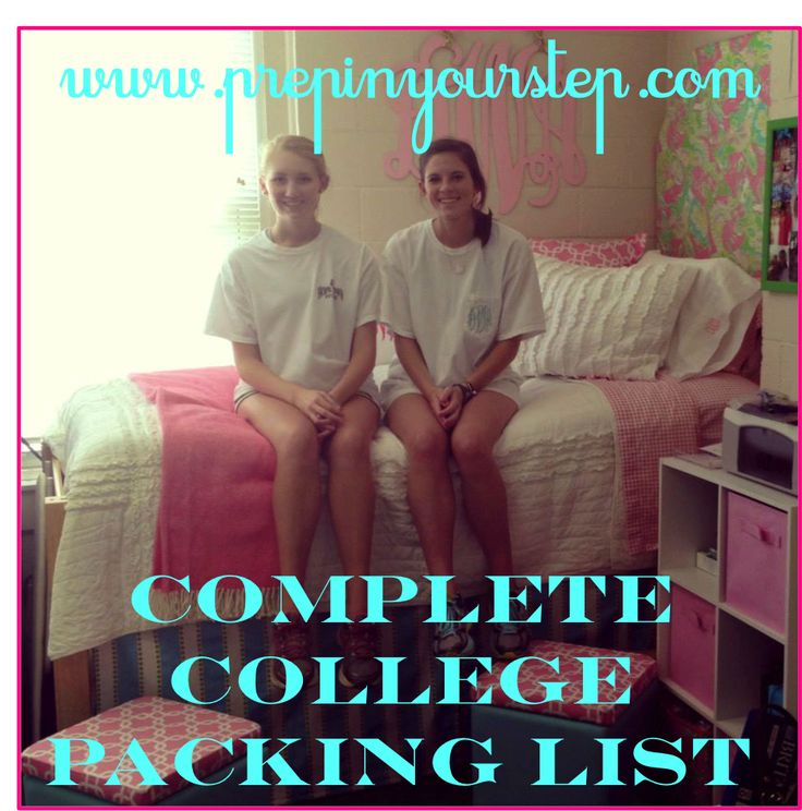 Prep In Your Step: The Complete College Packing Checklist