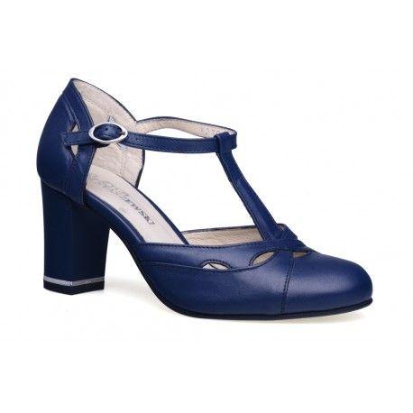 Damskie sandały czółenka włoski styl skóra