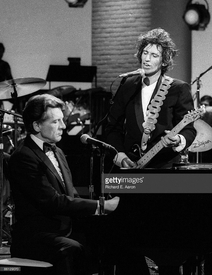 1979: Jerry Lee Lewis, Keith Richards performing together on 'Saturday Night Live'