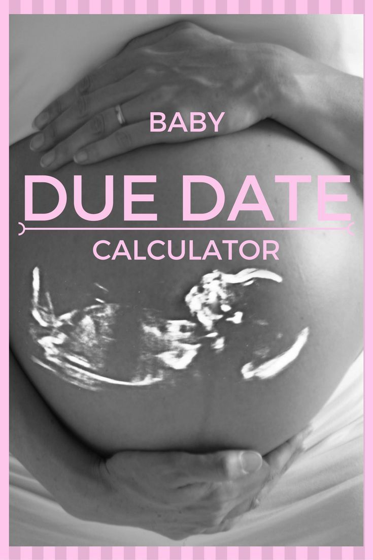 The online baby due date calculator on this page will instantly estimate the date your baby will be born on. #pregnancyduedate
