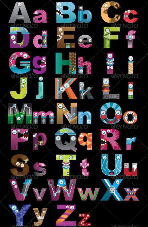 10 best alphabet letter images on pinterest design patterns 19 alphabet upper case letter templates free psd eps format download spiritdancerdesigns Gallery