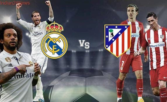 Real Madrid vs Atletico Madrid Live, Champions League semifinal: Real Madrid host Atletico in the first leg of the semifinal