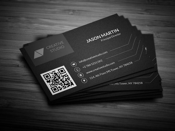 9 best visitcards images on pinterest business cards business check out creative dark business card by bouncy on creative market colourmoves Choice Image