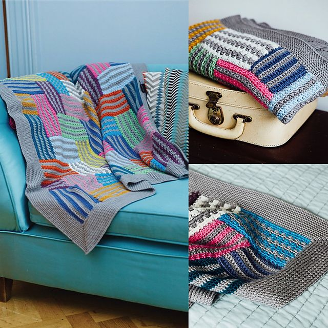 Ravelry: Mystery Quilt Blanket pattern by Annelies Baes (Vicarno)