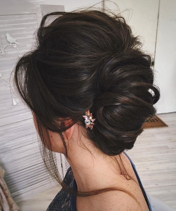 Simple+Messy+Formal+Updo