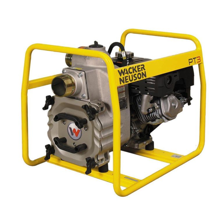 8 HP 3 in. Trash Pump with Honda Engine