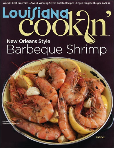 Louisiana, Magazines and Shrimp on Pinterest