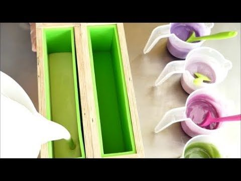 Making Lilac in Bloom Cold Process Soap - YouTube | Aroma