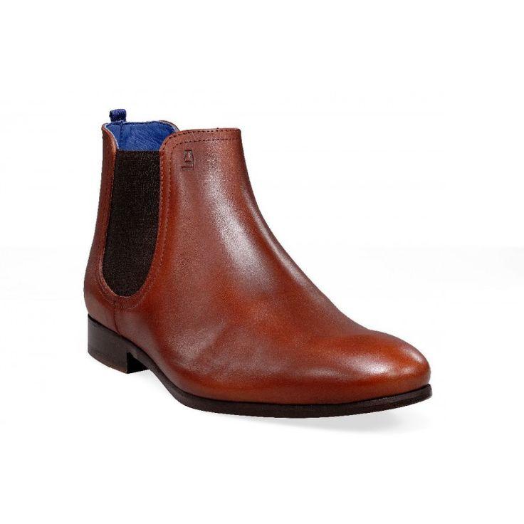 Think! Bottines ankleboot chaussures en cuir femmes feutre chaud Lina