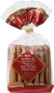 """Lambertz Aachen """"""""Kraeuter Printen"""""""" Spiced Lebkuchen in Bag"""