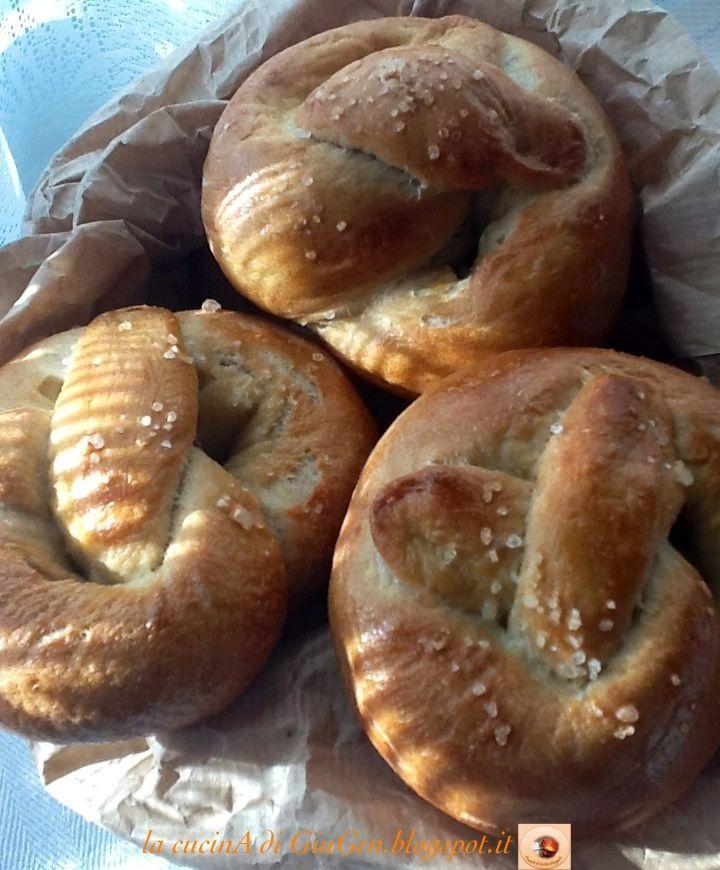 Amish pretzels morbidi di Pennsylvania
