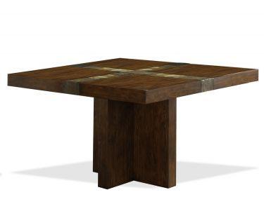 Belize Square Pedestal Dining Table, Riverside, Belize