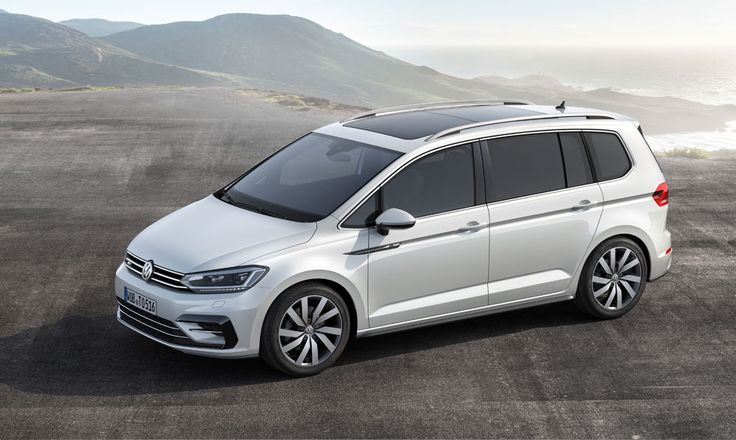 New Release 2016 Volkswagen Touran Review Front Side View Model