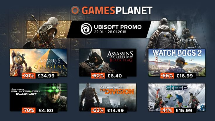 Gamesplanet Dragon Ball FighterZ And January Ubisoft Sale - https://techraptor.net/content/gamesplanet-dragon-ball-fighterz-sale-ubisoft | assassin's creed, Deal, DRAGON BALL FighterZ, gamesplanet, gaming, Sale, steam, Steep, the division, ubisoft, Uplay