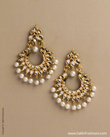 AD-0020 Kundan Earring
