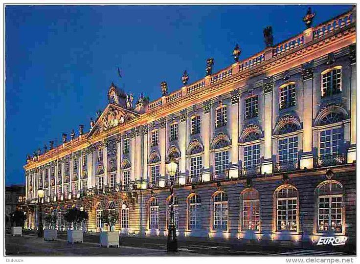 Hotel de Ville, is along the entire south side of the Place Stanislas, Nancy, France.