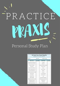 Free! The Practice Praxis-Study Plan