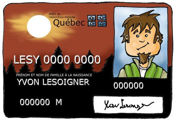 La carte soleil: la carte pour l'assurance maladie au Québec.