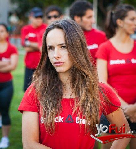 YoFui.com: Juanita Ringeling en CrossFit, Plaza Bulnes, Santiago (Chile)
