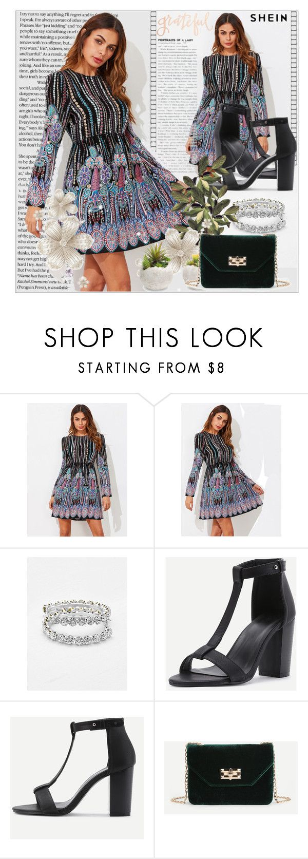 """""""SheIn 3"""" by emina-095 ❤ liked on Polyvore featuring Melrose International, Primitives By Kathy, shop, woman, polyvoreeditorial and shein"""