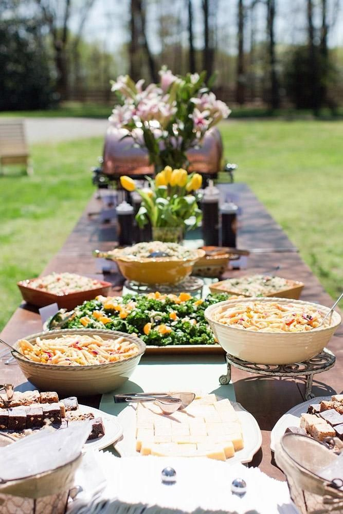 30 Rustic Bbq Wedding Ideas Best For Backyard Wedding Reception Backyard Wedding Food Barbecue Wedding Bbq Wedding