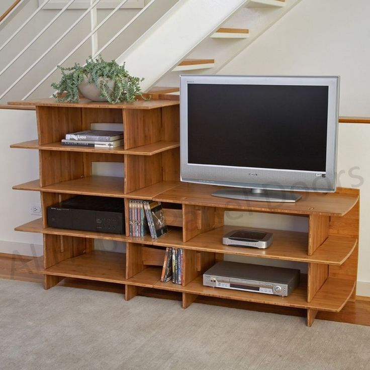 Stylish Calm Living Room Tv Stand And Cabinet Design Interior