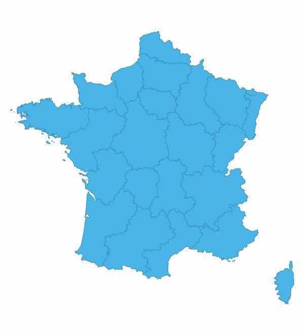 Carte des prévisions France - Météo Orange