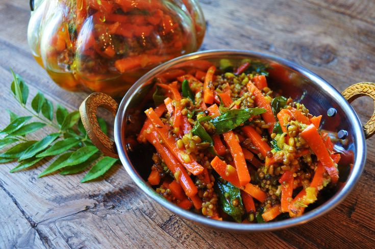 Carrot Pickle - #Indian #Achar