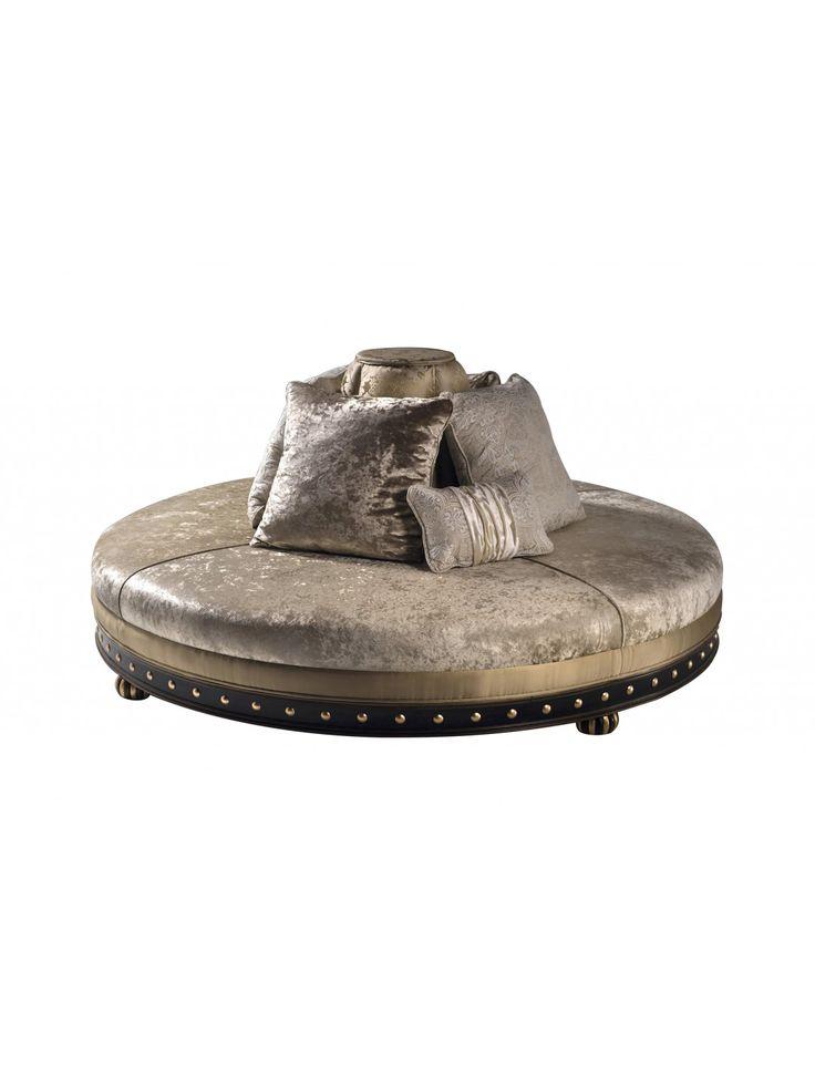 РОХАС КРУГЛЫЙ диван, подушки не входит COM - диваны - диваны - мебелью