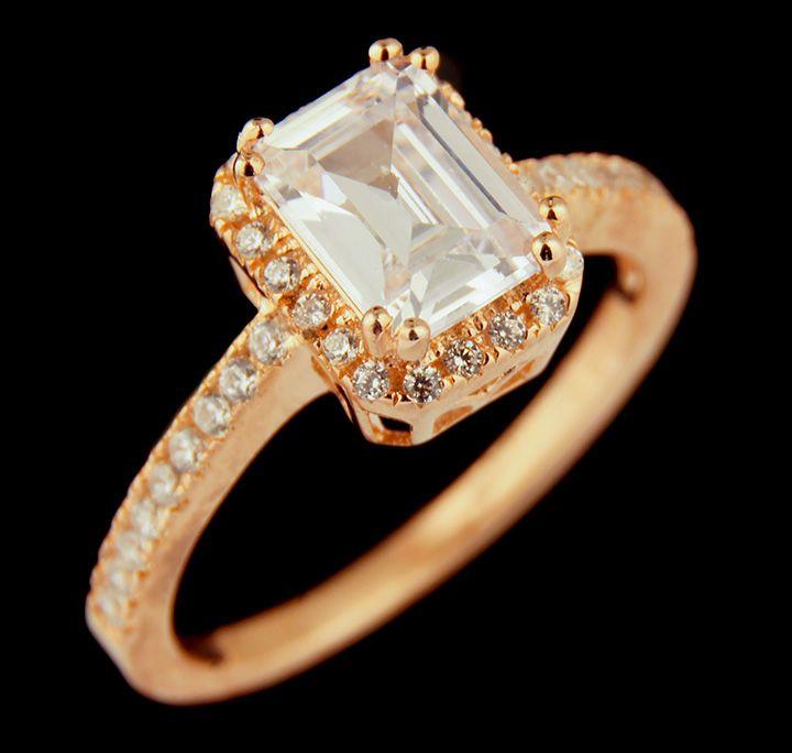 Rosetone+Fashion+Ring+in+Sterling+Silver