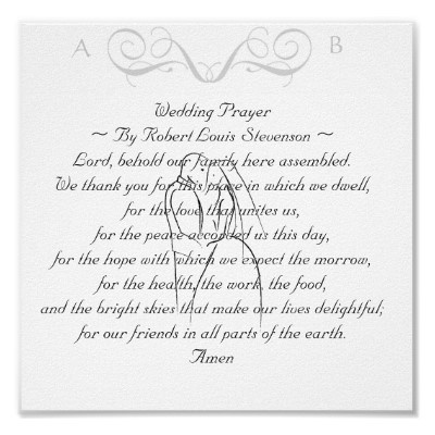 Wedding Prayer Simple And Short