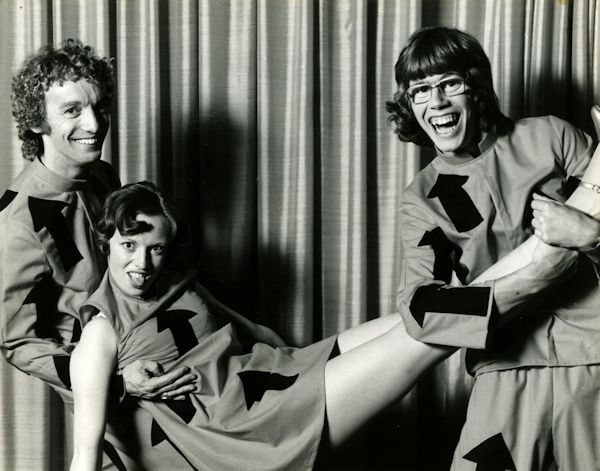 Greg Bepper - Late Night Theatre Revue 1976 with James Steele & Lorna Lesley