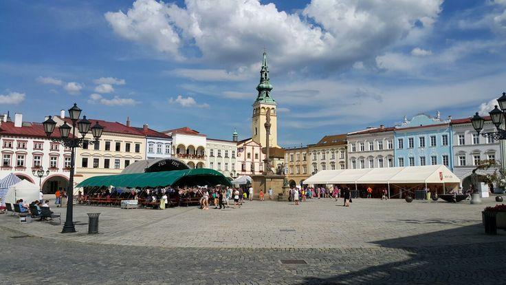 Market Square - Novy Jicin, Czech Republic