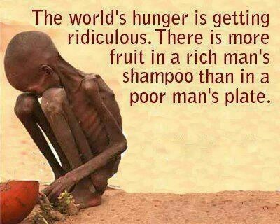 The world's hunger is getting ridiculous...