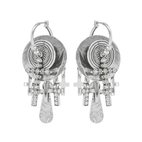 Boucles d39oreilles velvet winter of rock collection for Reminiscence bijoux