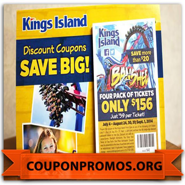 Kings island discount coupons