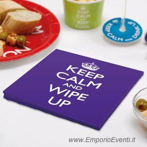 tovaglioli carta keep calm