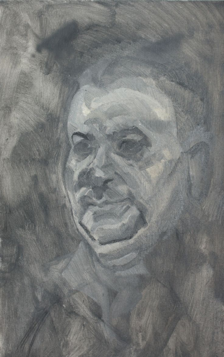 Man from Larnaka | Oil on Board | 2013