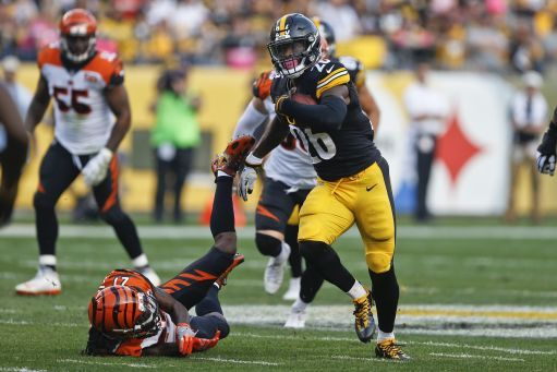 Le'Veon's Load; Steelers RB Bell on near record pace