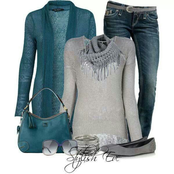 Love the turquoise