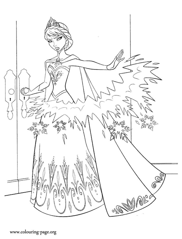 Frozen Coloring Books Coloring Coloring Pages