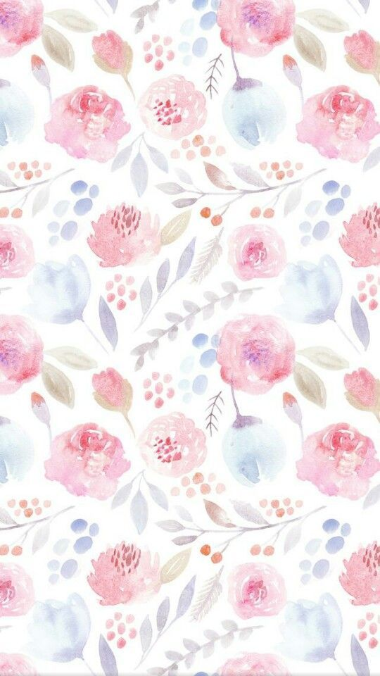 Wallpaper Ideas For Baby Girl Nursery Pin By Estelle Hamman On 1 Art Floral In 2019 Flowery