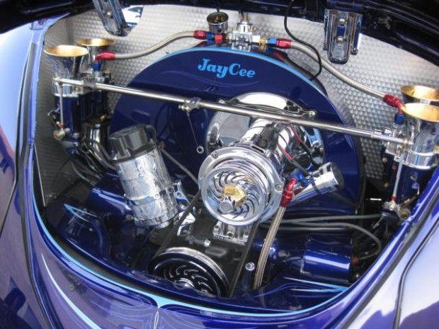 Esse espetacular Volkswagen Fusca recebeu uma customização e preparação aspirada de estilo. Apesar de um visual externo mais espor...