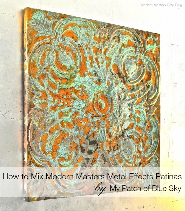 How to Mix Modern Masters Metal Effects