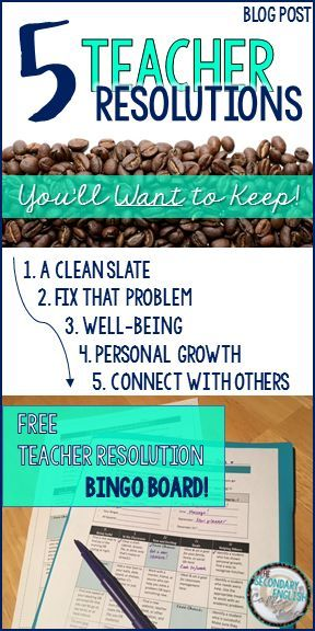 Blog Post - 5 Teacher Resolutions You'll WANT to Keep!