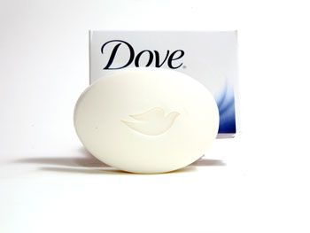 Dove Sensitive Skin Beauty Bar ($2.50 for 2)  It's free of all fragrance—the number one cause of irritation in skincare products.