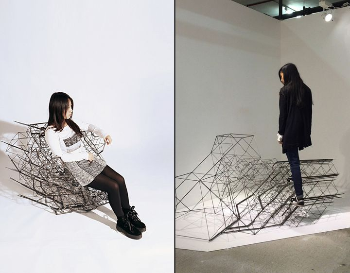 SpaceStream wireframe structures » Retail Design Blog