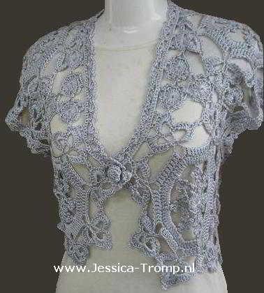crochet shawl shrugs patterns | ... KNIT CROCHET SWEATER SHRUG BOLERO PATTERNS | Easy Crochet Patterns