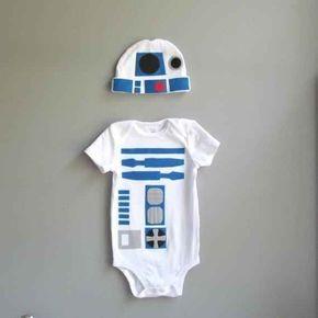 R2-D2 de La guerra de las galaxias   36 mamelucos para los beb�s m�s geniales que conozcas